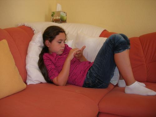 Entspannen nach der Schule