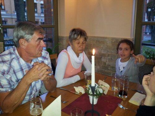 Nachfeier von Anja's Geburtstag im Schnitzelparadies