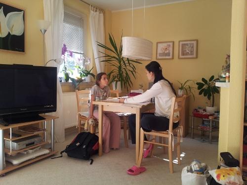 Hausaufgaben am Feiertag