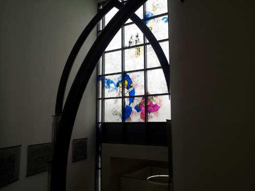 Moderne Fensterglaskunst