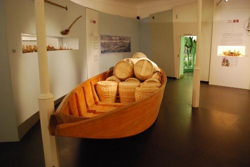 Nachbau Donau-Handelsschiff