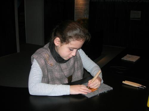 Herstellung von keltischem Schmuck