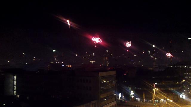 Stuttgart begrüßt das Jahr 2013