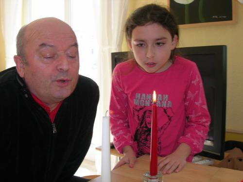 Kerzen auspusten